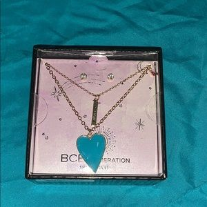 BCBGeneration Necklace and Earrings set